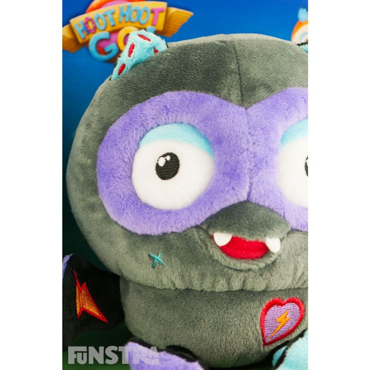Talking Giggle Fangs Plush Toy