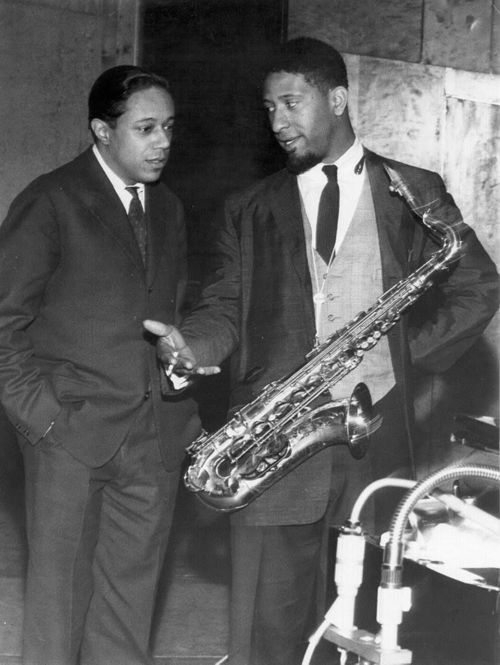 Horace Silver (left) and Sonny Rollins (1959)