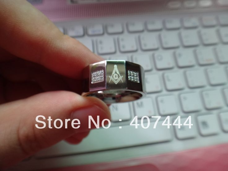 buy free shipping cheap price jewelry usa brazil russia hot sales hisher 10mm masonic faced czs #masonic #rings