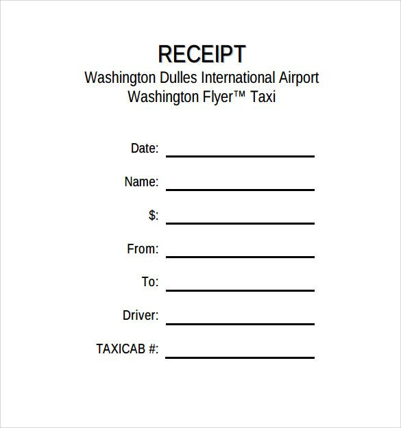 Free 12 Taxi Receipt Templates In Pdf Google Docs For Blank Taxi Receipt Template Receipt Template Invoice Template Templates