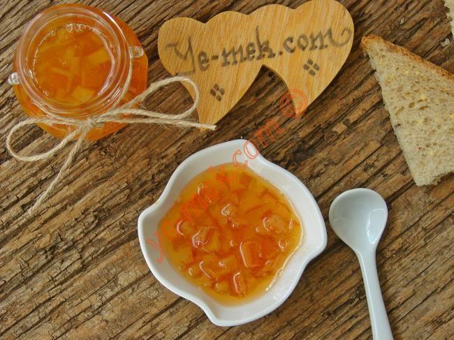 Portakal Kabuğu Reçeli Resimli Tarifi - Yemek Tarifleri
