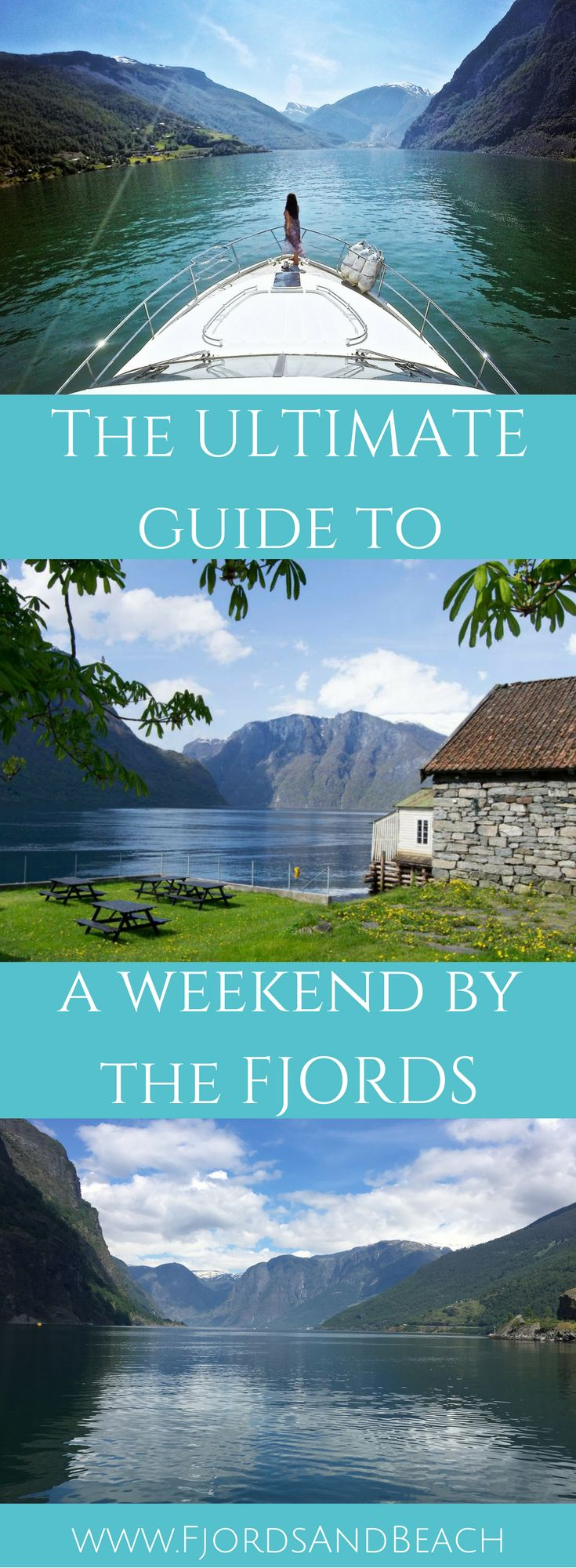 Visiting Norway? This guide to spending a weekend by the fjords of Norway is all you need! The fjords are a bucket list destination to many, and a must when you Visit Norway.