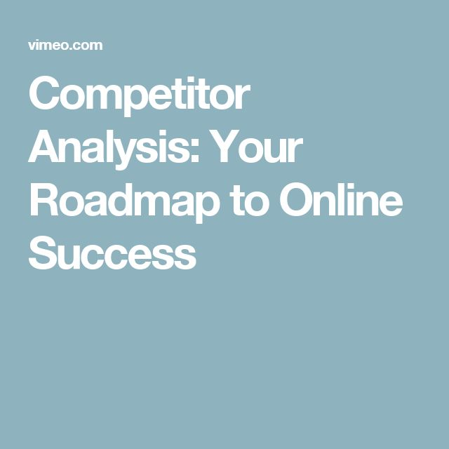 Best 25+ Competitor analysis ideas on Pinterest Twitter d, Kpi - sample competitive analysis 2