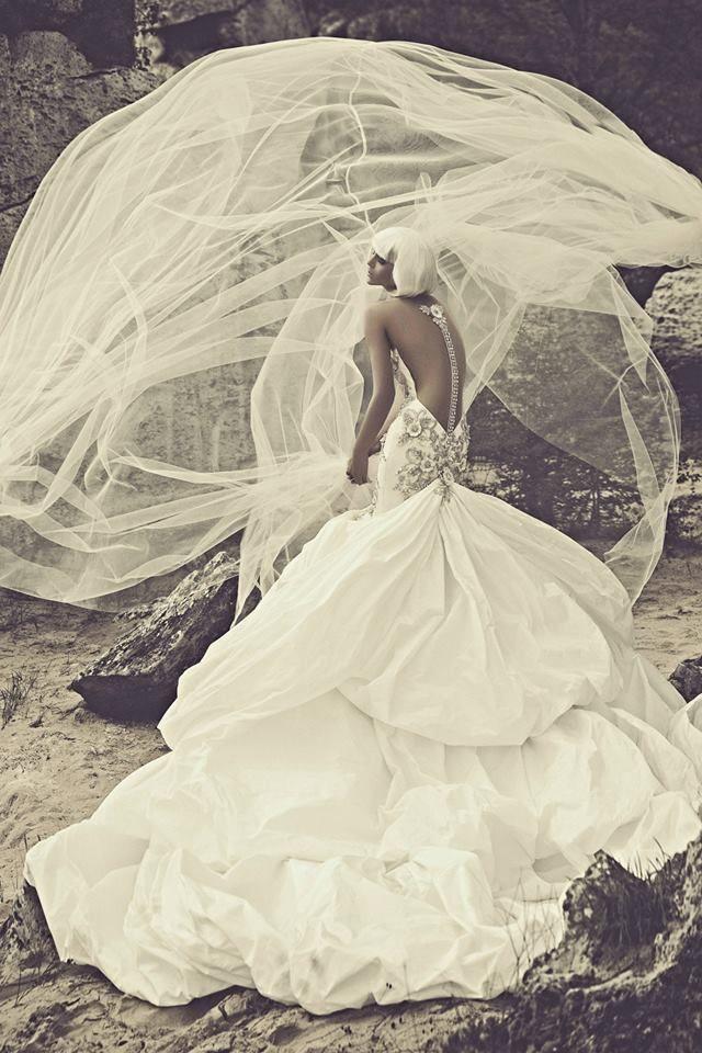 The latest JULIA KONTOGRUNI #wedding dresses mix classic, feminine silhouettes with more trendy, stylish cuts. To see more: http://www.modwedding.com/2014/06/13/the-latest-julia-kontogruni-wedding-dresses/ #wedding #weddings