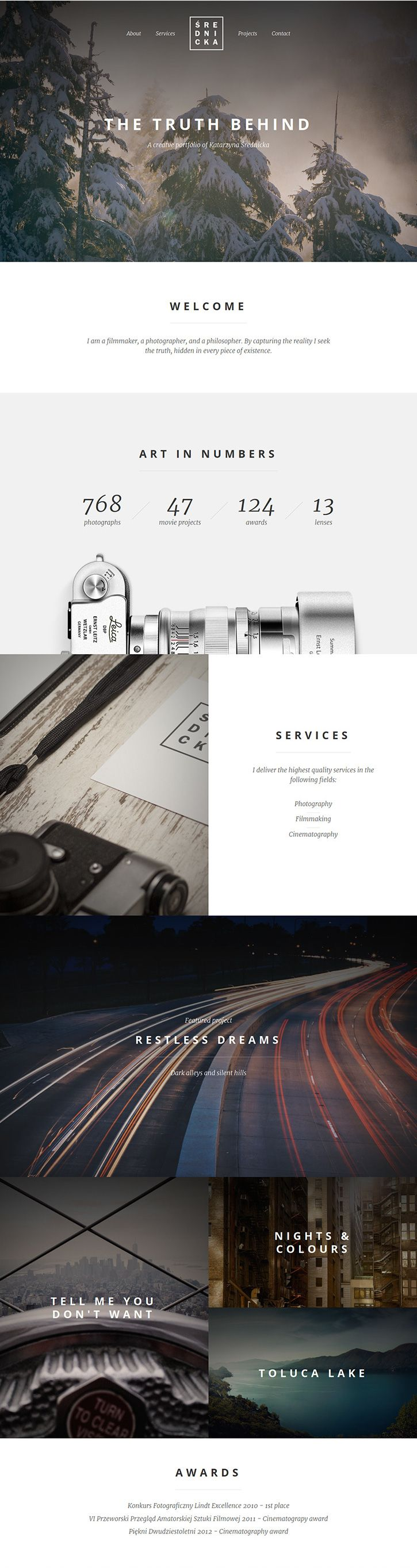 Unique Web Design, Srednicka #WebDesign #Design