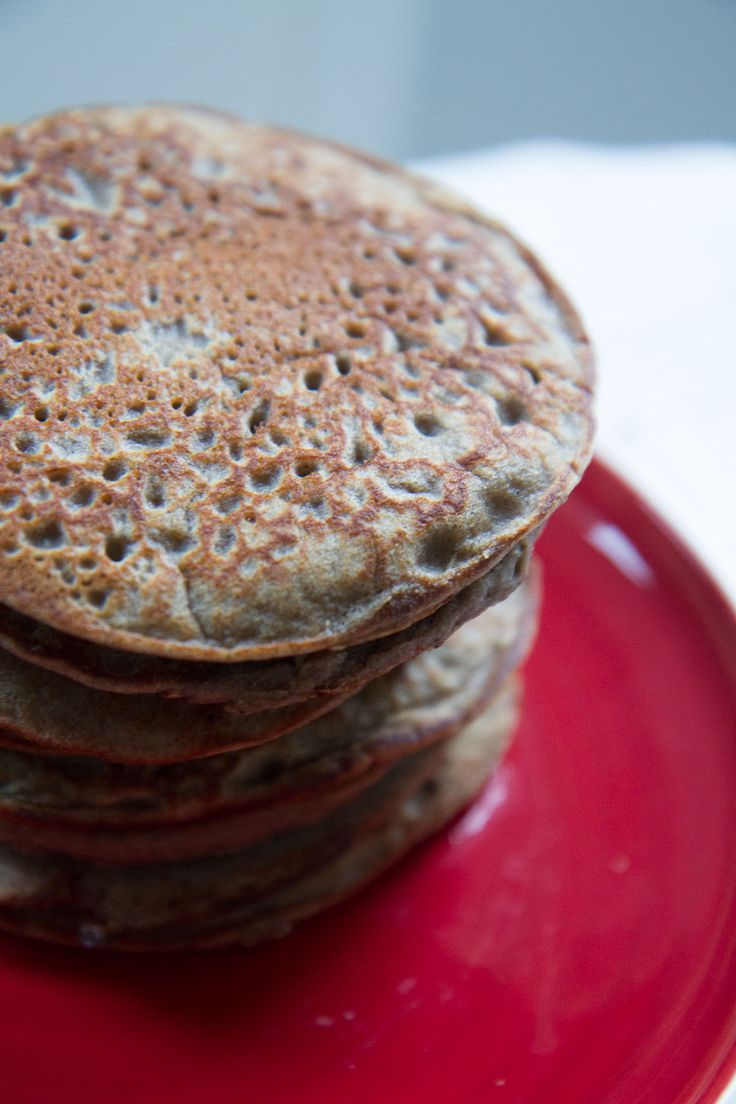 Blinis au sarrasin (sans gluten ni lait)