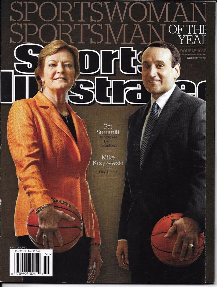 Sports Illustrated magazine Sportsman and sportswoman of