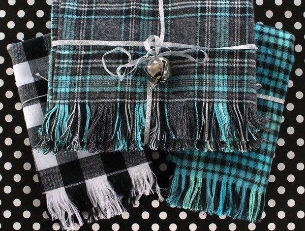 Fringe tutorial for flannel. Use to make blankets as gifts