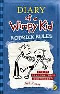 The Diary of a Wimpy Kid series centers around a middle-school student, Greg Heffley. The books are his Dairy entries, as he records the happenings of each day. This is the second book in the the series.