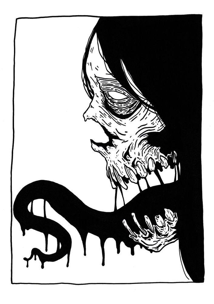 Image of Black Tongue - Print