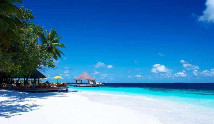 Maldive-spiaggia