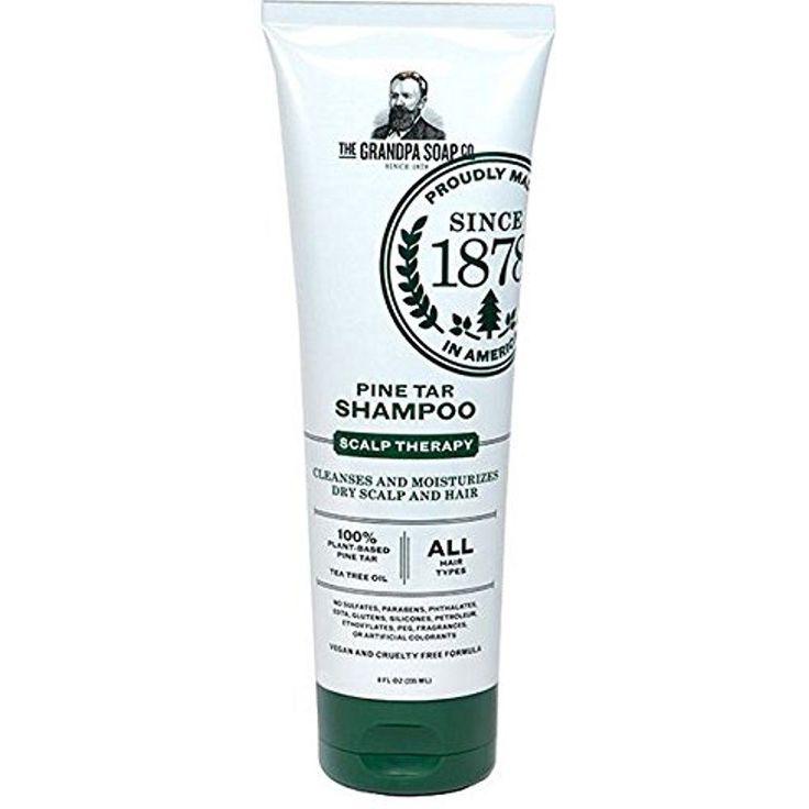Grandpa's Pine Tar Shampoo Scalp Therapy 8 Fluid Ounce ( Packaging May Vary) #Grandpas