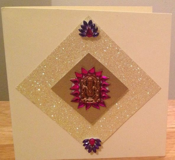 45 best kankotri ideas images on pinterest bridal invitations hand made diwali cards you can reuse the ganesh and other decor from hindu wedding invitations stopboris Gallery