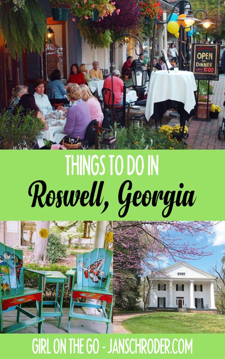 A gem just outside of Atlanta is Roswell, Georgia. ***************************************** USA travel | Roswell Georgia | Atlanta Georgia | Georgia travel | Georgia things to do | Georgia things to see l escapes from Atlanta l weekend getaways