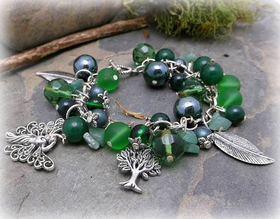 Good Luck Jade and Aventurine Fairy chunky by WiseWomanCollective, $18.99