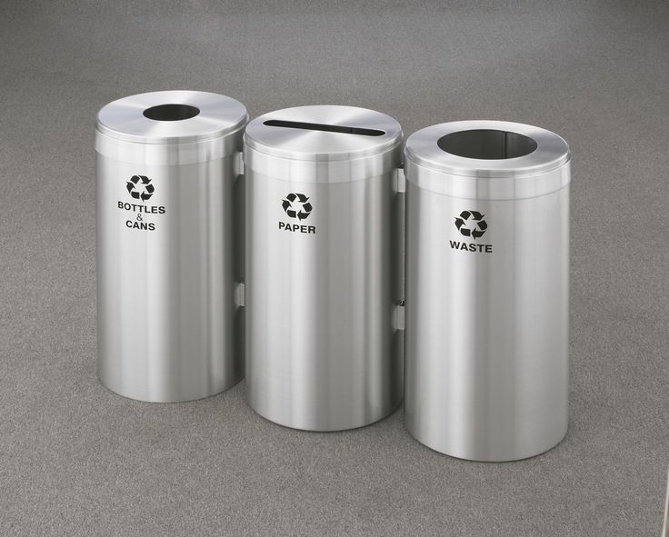 Trashcans Unlimited  - 45 - 123 Gallon Connectable Recycling Trash Can Combo 1242-3 (3 Sizes), $479.95 (https://trashcansunlimited.com/45-123-gallon-connectable-recycling-trash-can-combo-1242-3-3-sizes/)