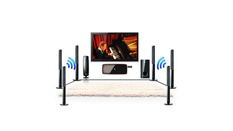 this would be awesome! wireless surround sound system
