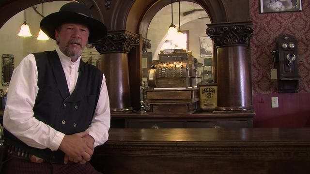 Virgil Earp. An interview with Virgil Earp the day of the gunfight at the OK Corral, Tombstone, AZ