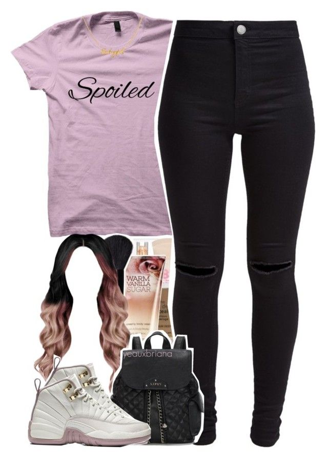 """through the wire // kanye west"" by yeauxbriana ❤ liked on Polyvore featuring New Look and Lipsy"