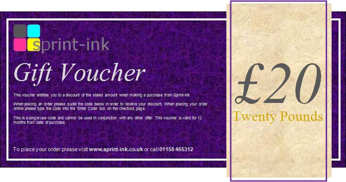 Win a £20 gift voucher to use on any product on our website