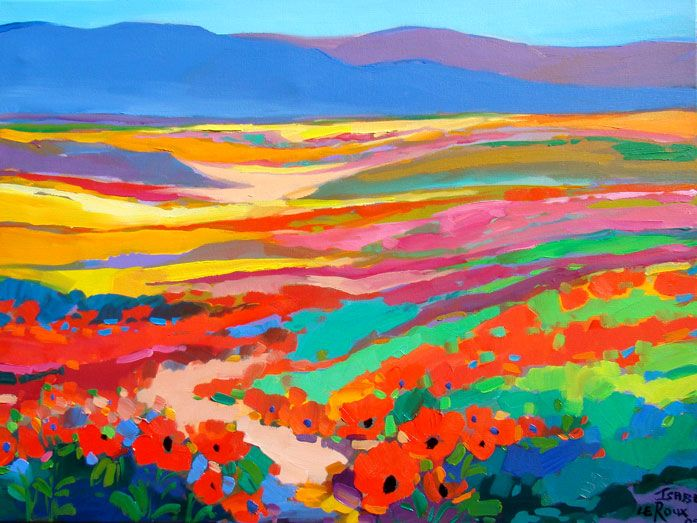 Isabel le Roux - South African Artist: Provence Gallery