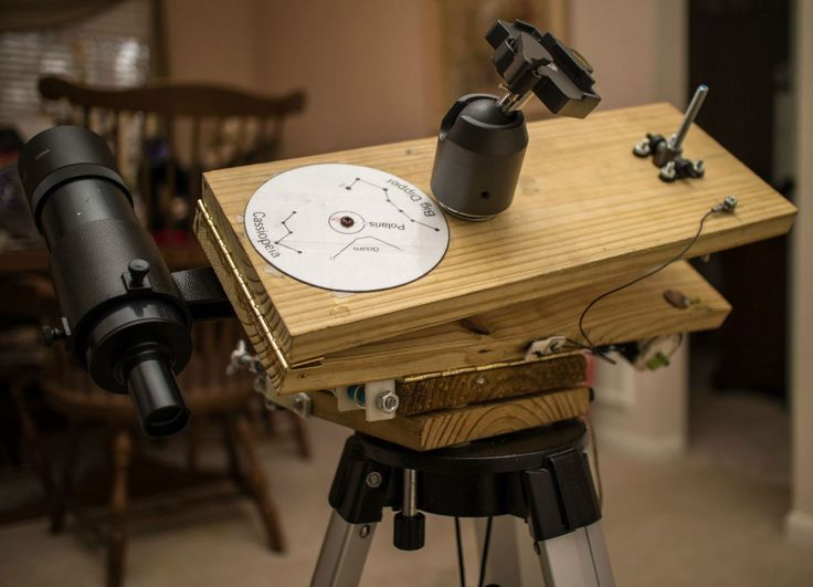 Barn Door Tracker for Astrophotography