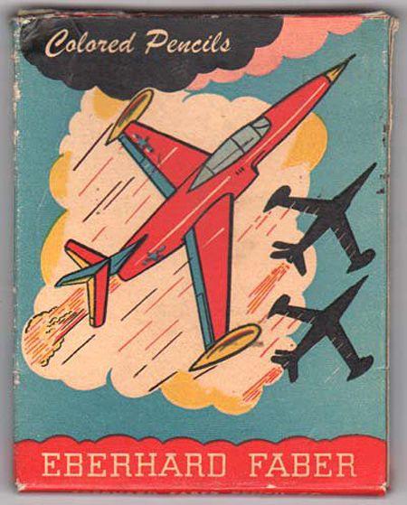 Museum of Forgotten Art Supplies - Eberhard Faber Colored Pencils - Color Tools