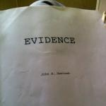 Script from Stephen Moyer's upcoming film Evidence