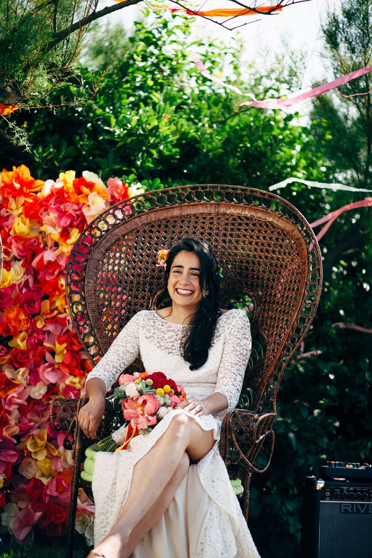 French and Colombian Boho Wedding