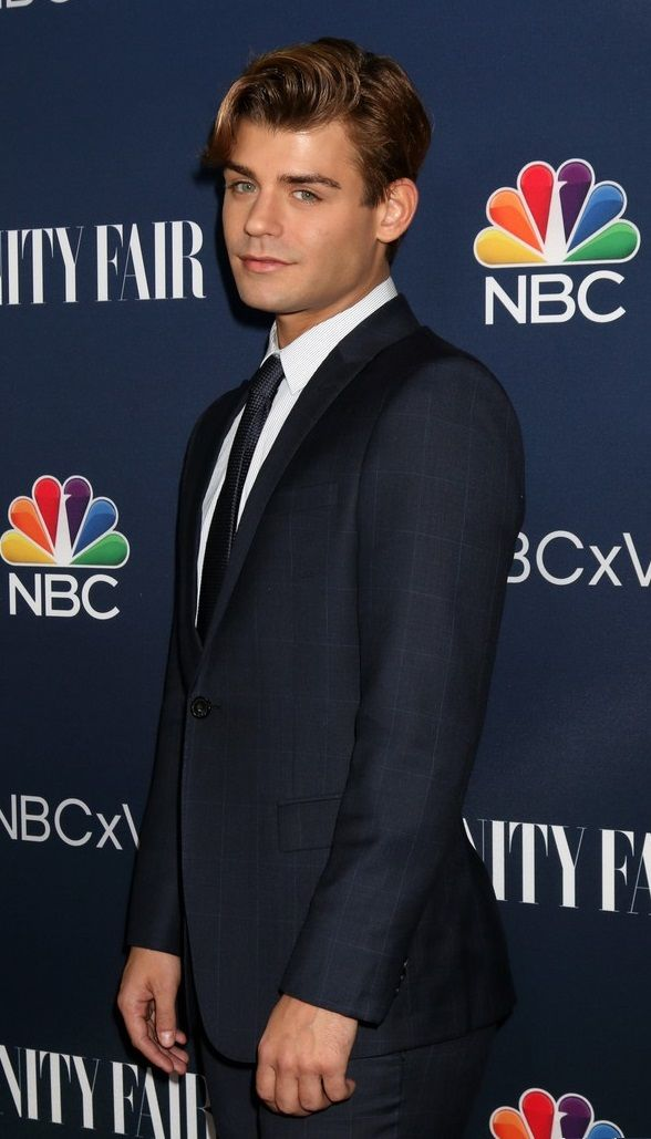 Garrett Clayton at NBC & Vanity Fair's Fall Season Toast Celebration