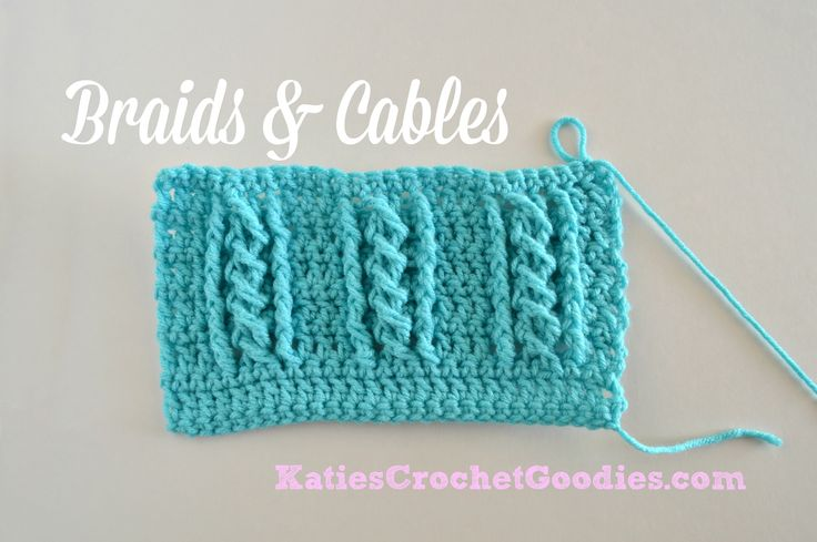 Tutorial on the Braided Cable Crochet Stitch