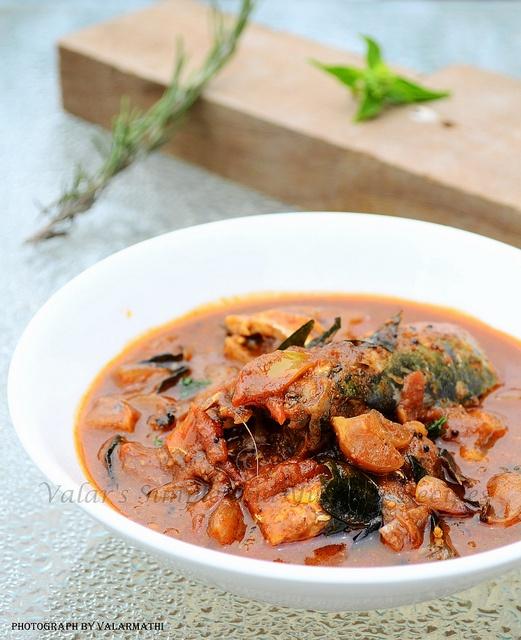 Chettinad Fish Kulambu / Curry