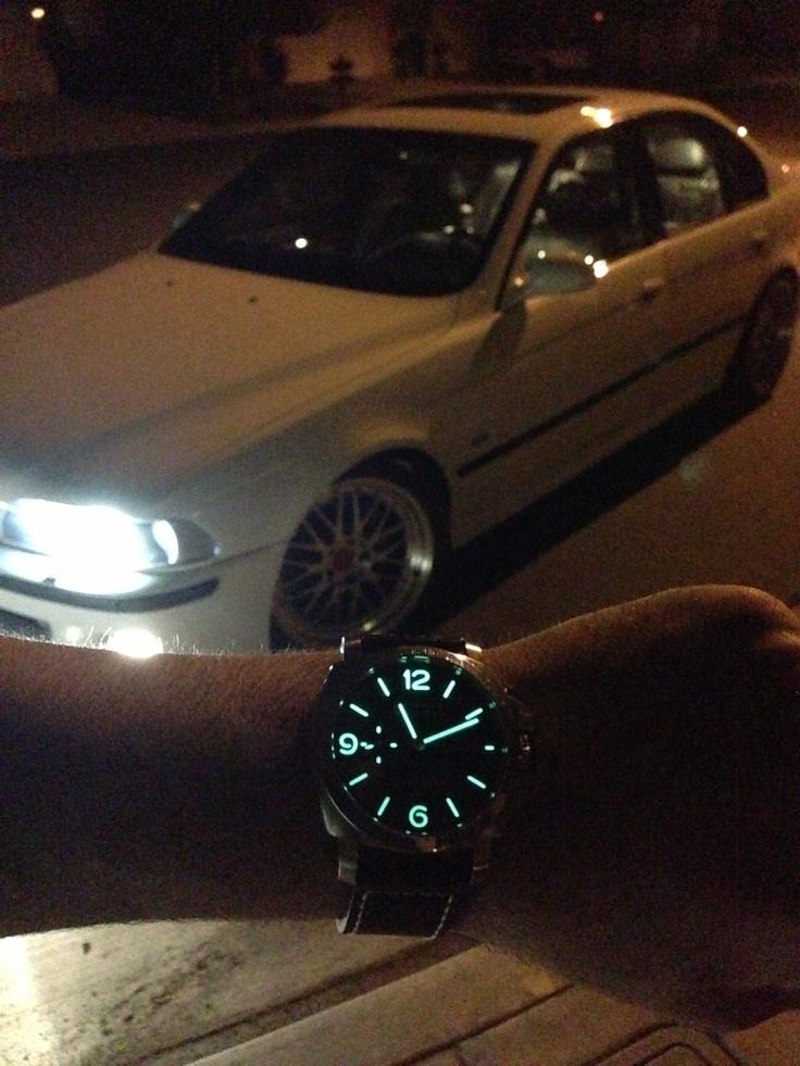 BMW M5 E39 with a Panerai 312