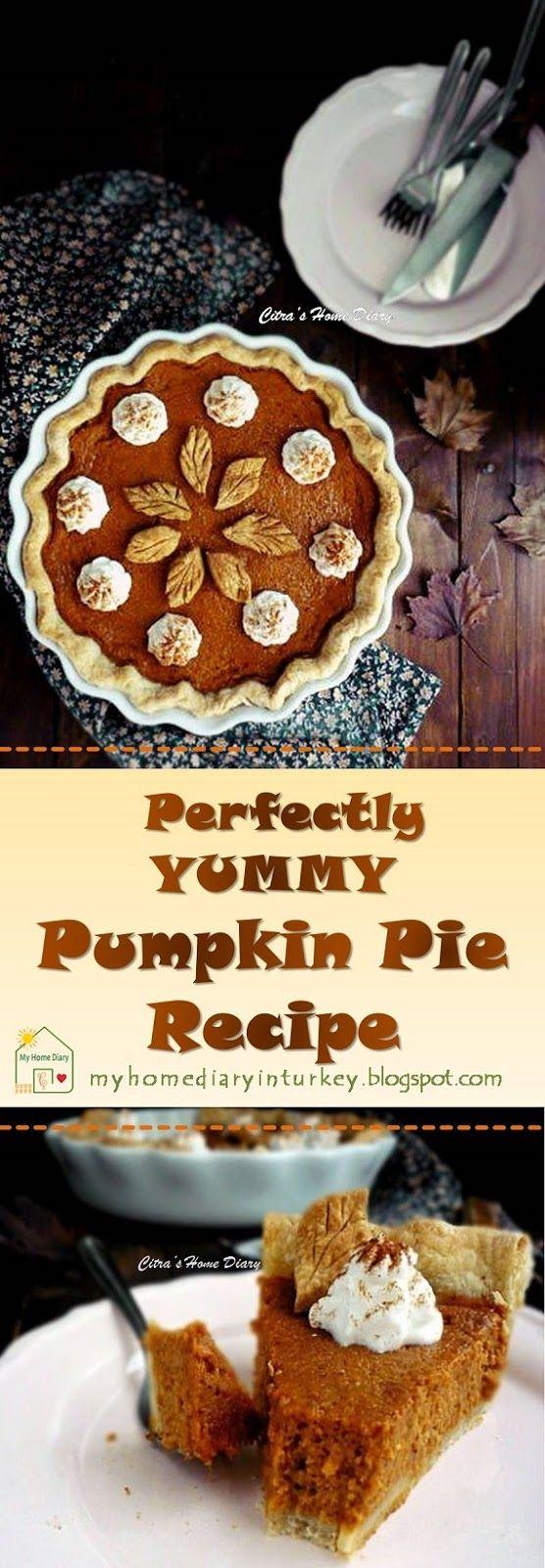 Pumpkin Pie Recipe. #pumpkin #pie #dessertpie #inseason #labukuning