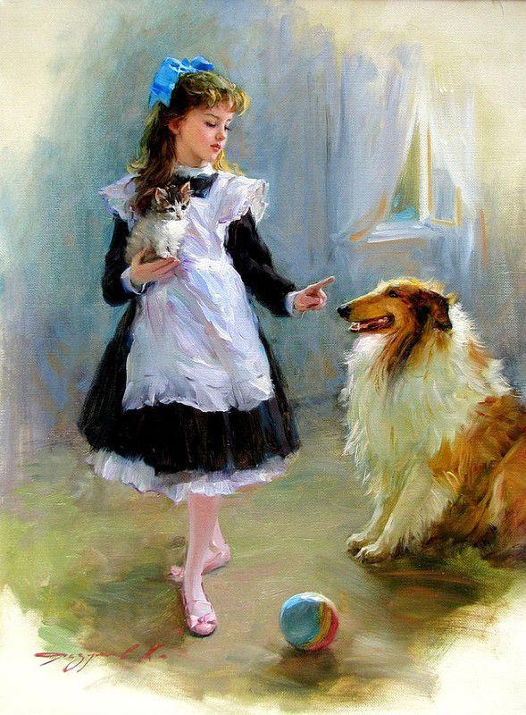 Warnig the dog Konstantin Razumov