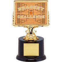 "6 1/4"" Basketball Bracket Challenge Trophy"