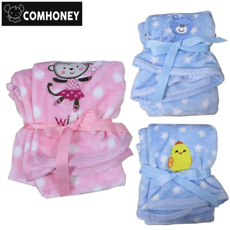 Cobertor do bebê de Flanela de Lã Cobertor para Recém-nascidos de Desenhos Animados Coelho Cruz Árvore Toalha de banho para Cama Sofá Macio Crianças Brincam Esteira Bebe Presente