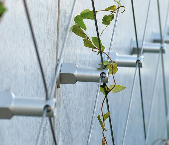 Trellises | Planting | GREENCABLE | Carl Stahl. Check it out on Architonic
