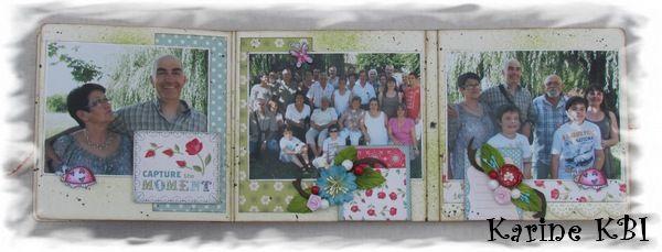 Voici un 'ti album (/ carte ? ), réalisé, il y a déjà quelques temps, pour Belle-Maman et décoré de tamponnages Magnolia : En détails (avec le tamponnage mis en couleurs aux feutres à alcool) : L'intérieur : En détails aussi : Complètement ouvert : Les...