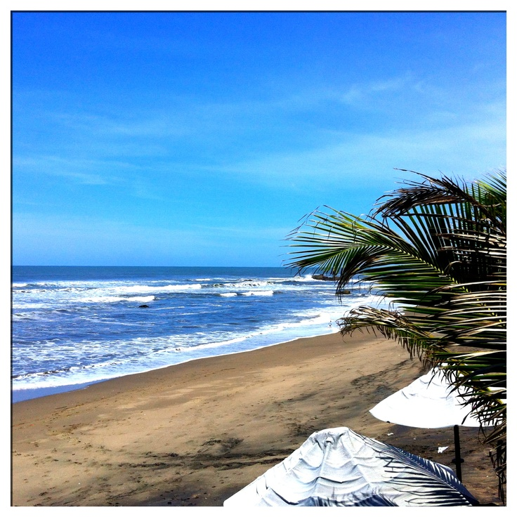 Las Penitas, Nicaragua. So secluded. Never saw more than 20 people on the beach at the same time. So relaxing.