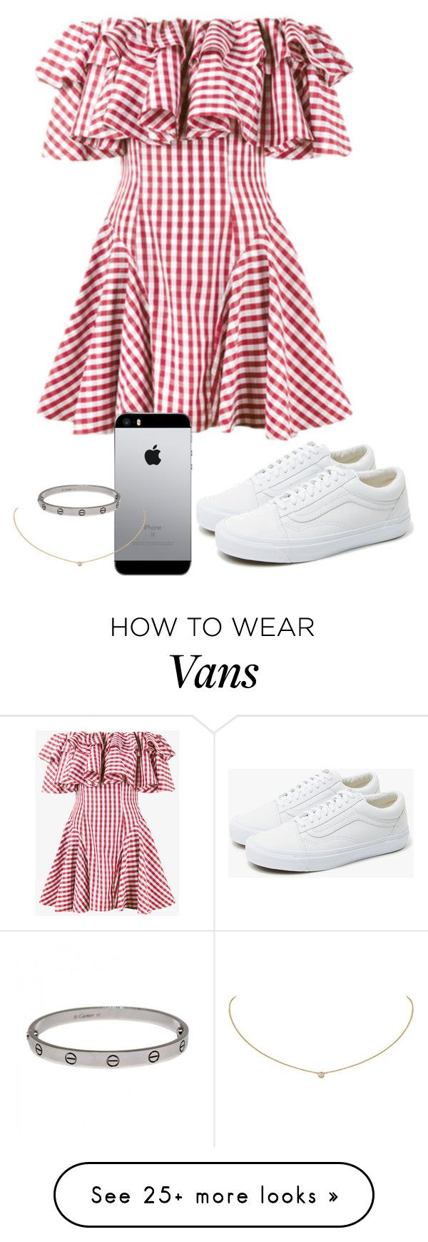 """""""Sem título #1026"""" by army-forever on Polyvore featuring House of Holland, Vans and Cartier"""