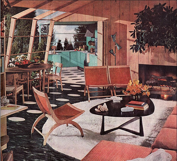 Mid Century Living Rooms Entrancing Decorating Inspiration