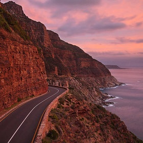 Chapman's Peak drive - `10 minutes from Hamilton House Cape Town