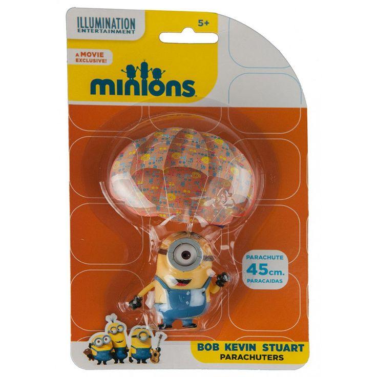 Minions Parachuter Stuart from Funstra Toys