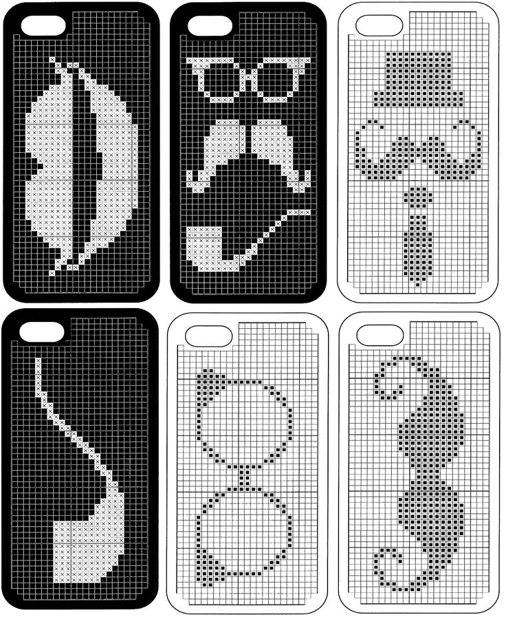 Anchor IStyle Iphone 5 Phone Case Counted Cross Stitch