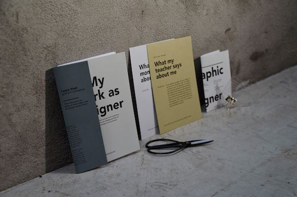 Graphic Designer's Creative Portfolio Grabs Attention With Bold, Over-Sized Text - DesignTAXI.com