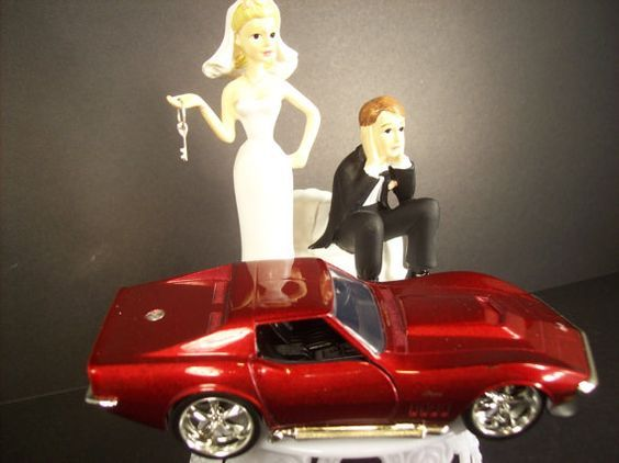 car guy wedding cake topper 17 best ideas about corvette cake on cakes for 12388