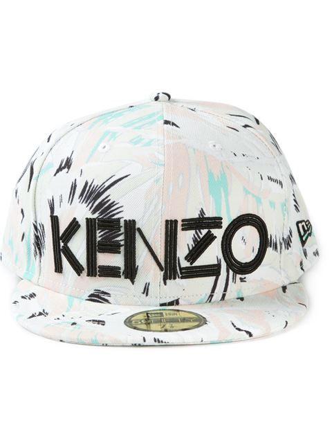 "Kenzo #cap ""new Era"" - Voga - Farfetch.com #accessories #menfashion ✅"