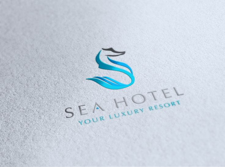 sea hotel logo / foil | Design | Pinterest | Creative ...