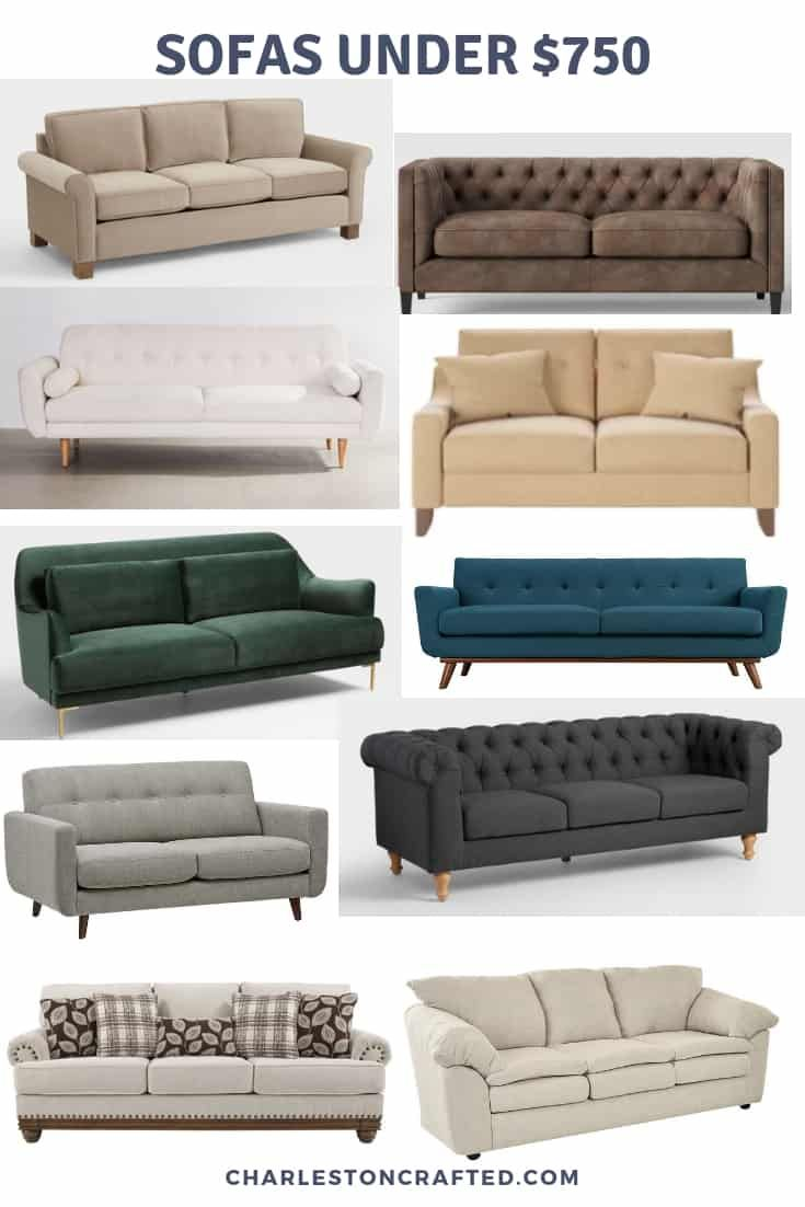 The 40 Best Cheap Sofas On The Internet In 2020 Cheap Sofas Cheap Couch Cool Couches